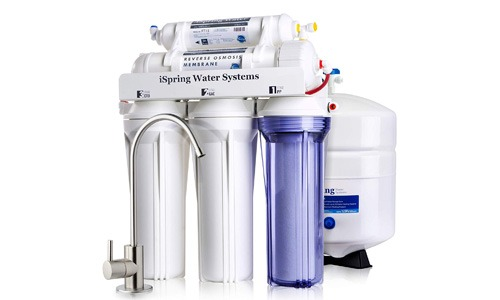 iSpring RCC7 Under Sink Reverse Osmosis System