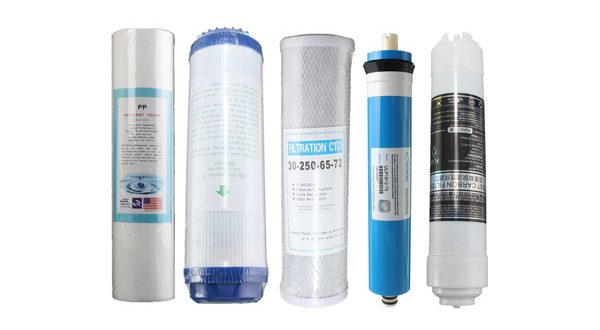 how to change drinking water filter