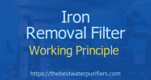 Iron Removal Filter Working Principle