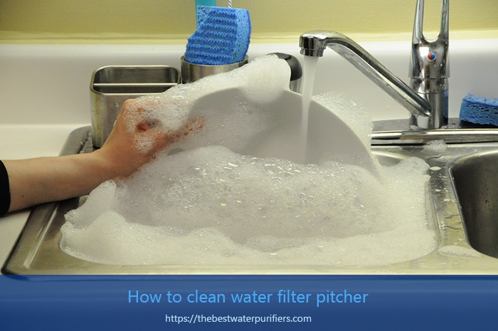How to clean water filter pitcher