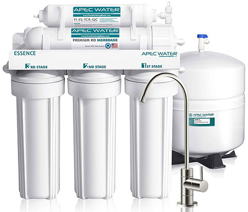 Ultra Safe Reverse Osmosis Drinking Water Filter System