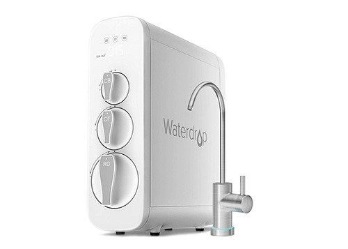 Tankless reverse osmosis system by Waterdrop